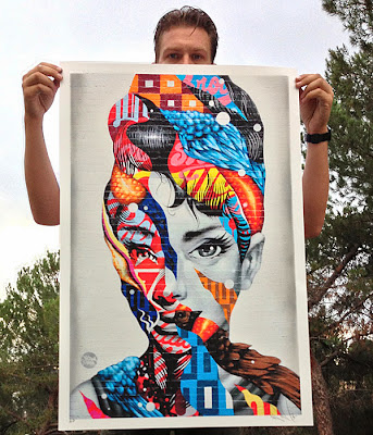 """Audrey of Mulberry"" Print by Tristan Eaton"