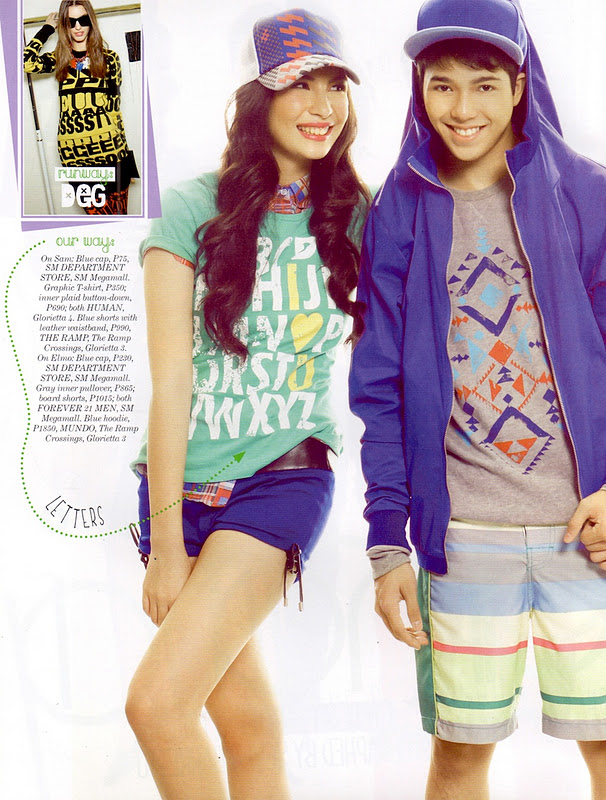 Young star rapper Elmo Magalona and model Sam Humphries in ...