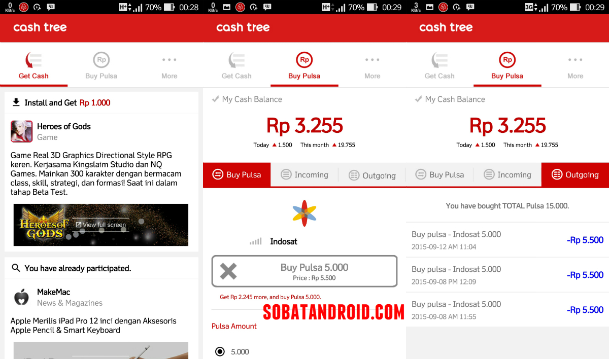 Download Cashtree Apk Android, APK Berhadiah Pulsa Gratis [Beta]
