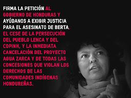 PETICION DEL COPINH, AYUDENOS,