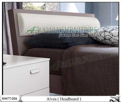 Head board Tempat Tidur Modern Minimalis Alves