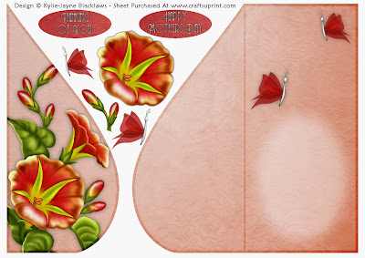 http://www.craftsuprint.com/card-making/folded-cards/tear-drop-female/orange-red-petunia-and-butterflies-teardrop-card-3.cfm