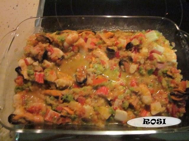 Entre cacharros de cocina salpic n de marisco thermomix for Cacharros de cocina