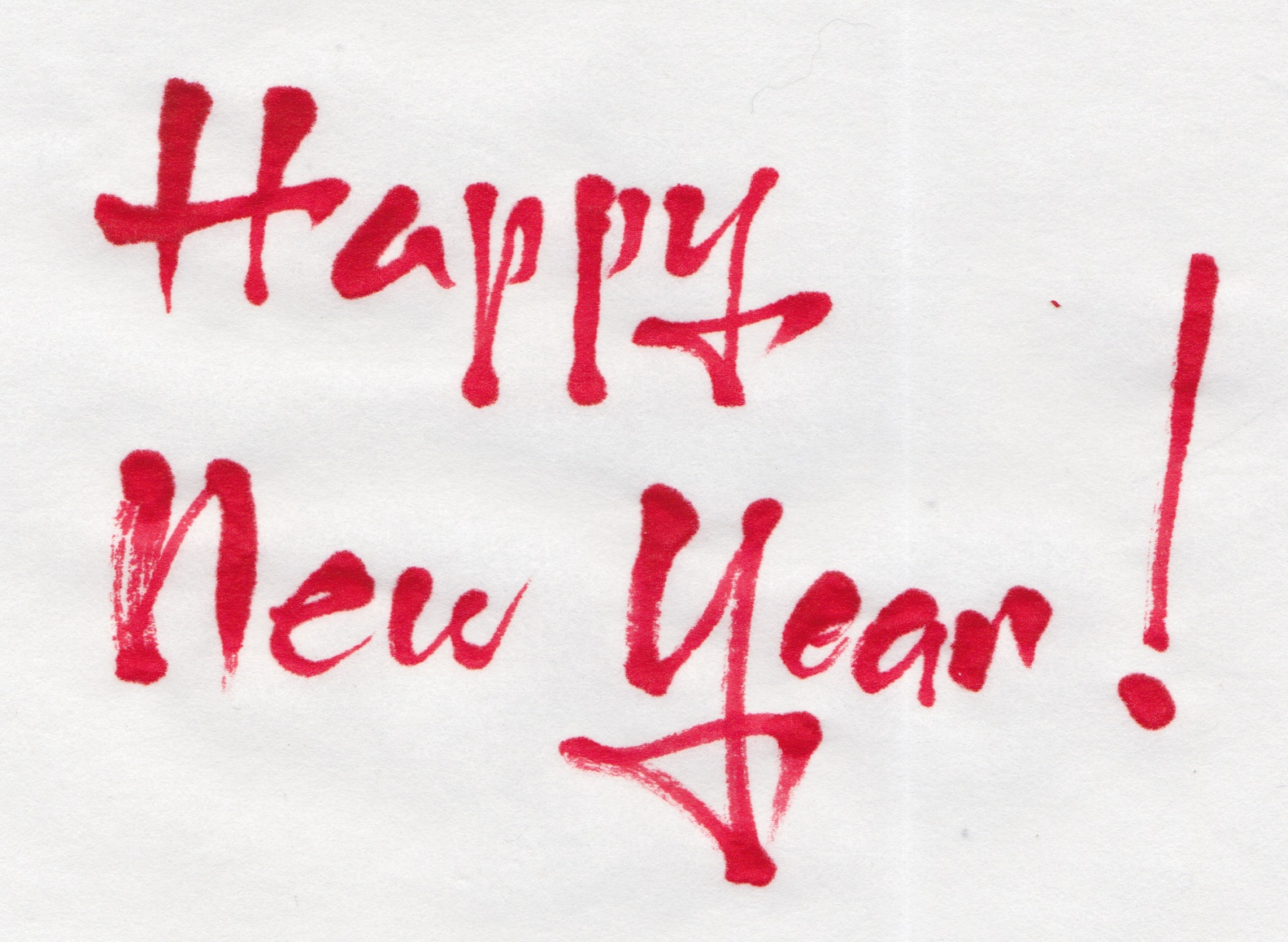 Margaret Shepherd: Calligraphy Blog: Happy New Year