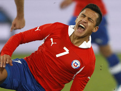 ¡Alexis Sánchez se volvió a lesionar!