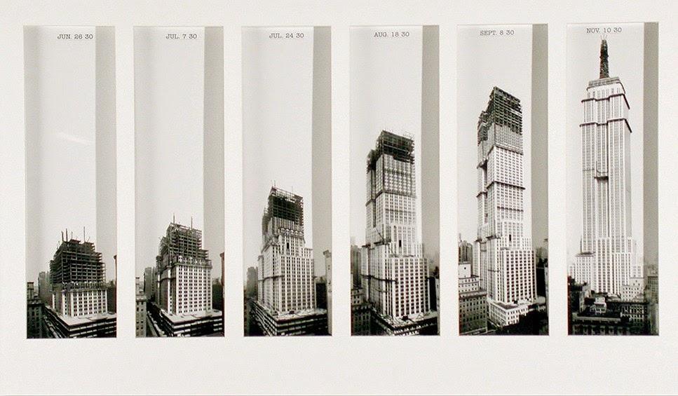 La construcción del Empire State Building