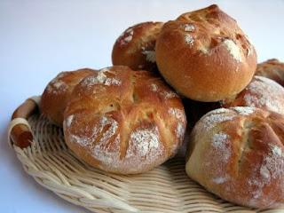 Panets de mantega torrada (panificadora)