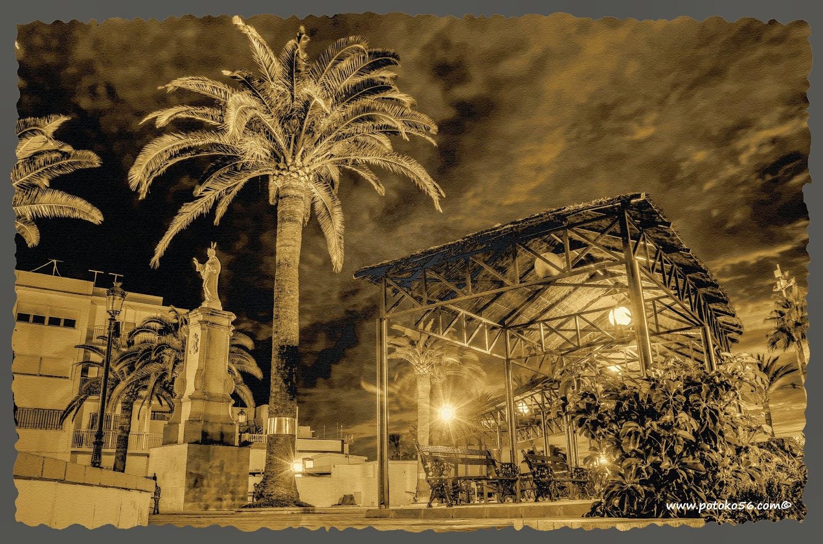 Plaza del Sagrado Corazón de Jesús en Rota