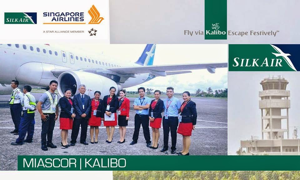 SilkAir Launches Inaugural Singapore-Kalibo Flights
