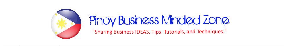 Pinoy Business Minded Zone