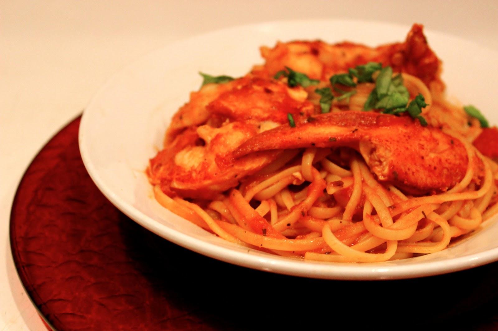twin tastes : Love Lobster Fra Diavolo