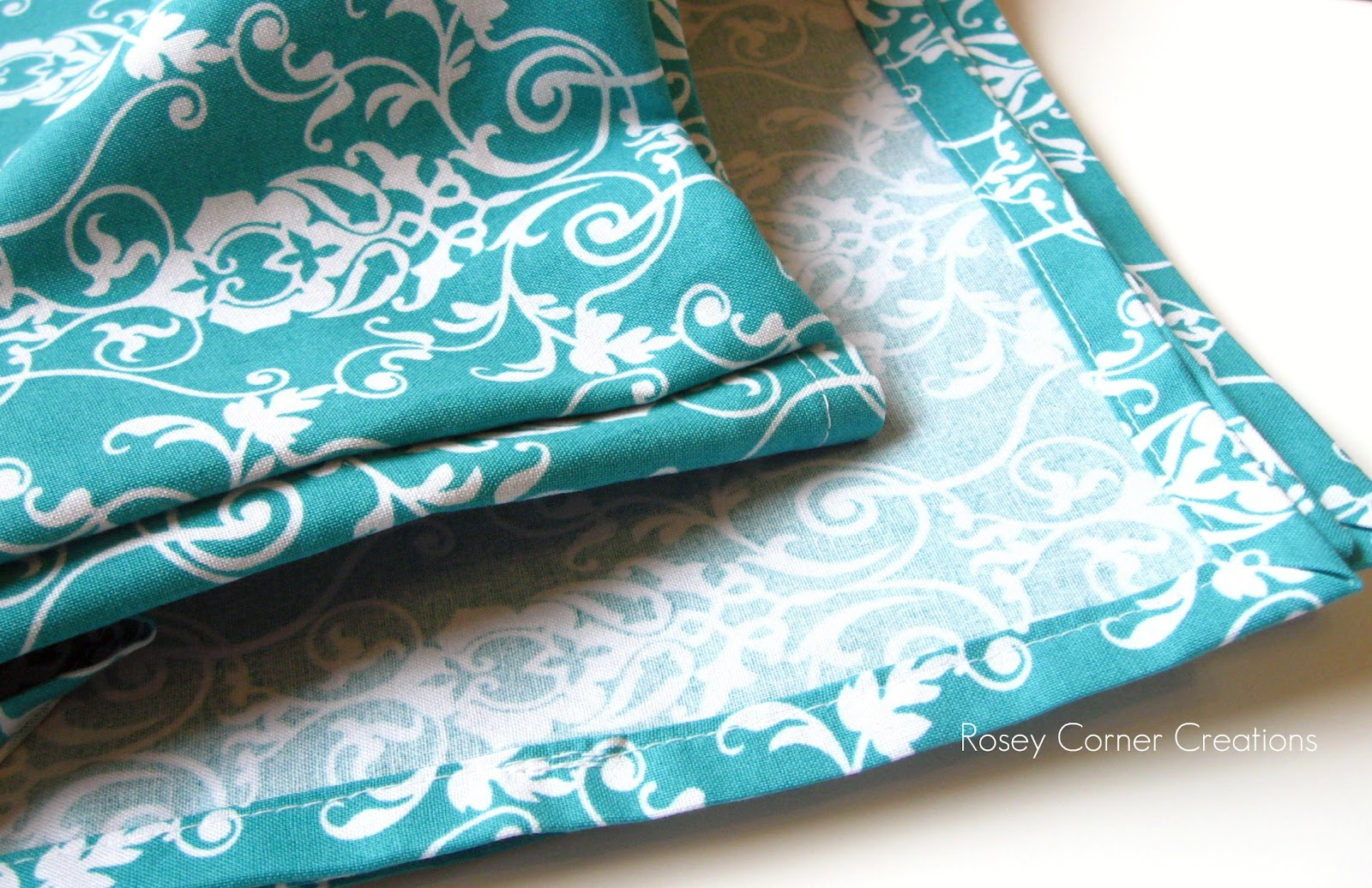 Mitred%2BCorner%2BTutorial%2B2 for blankets and burp