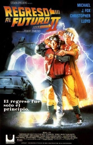Poster Back to the Future Part II 1989