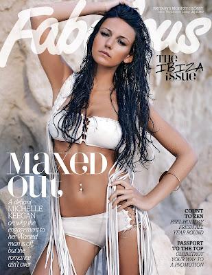Michelle Keegan – Bikini Fabulous Magazine Cover July 2012