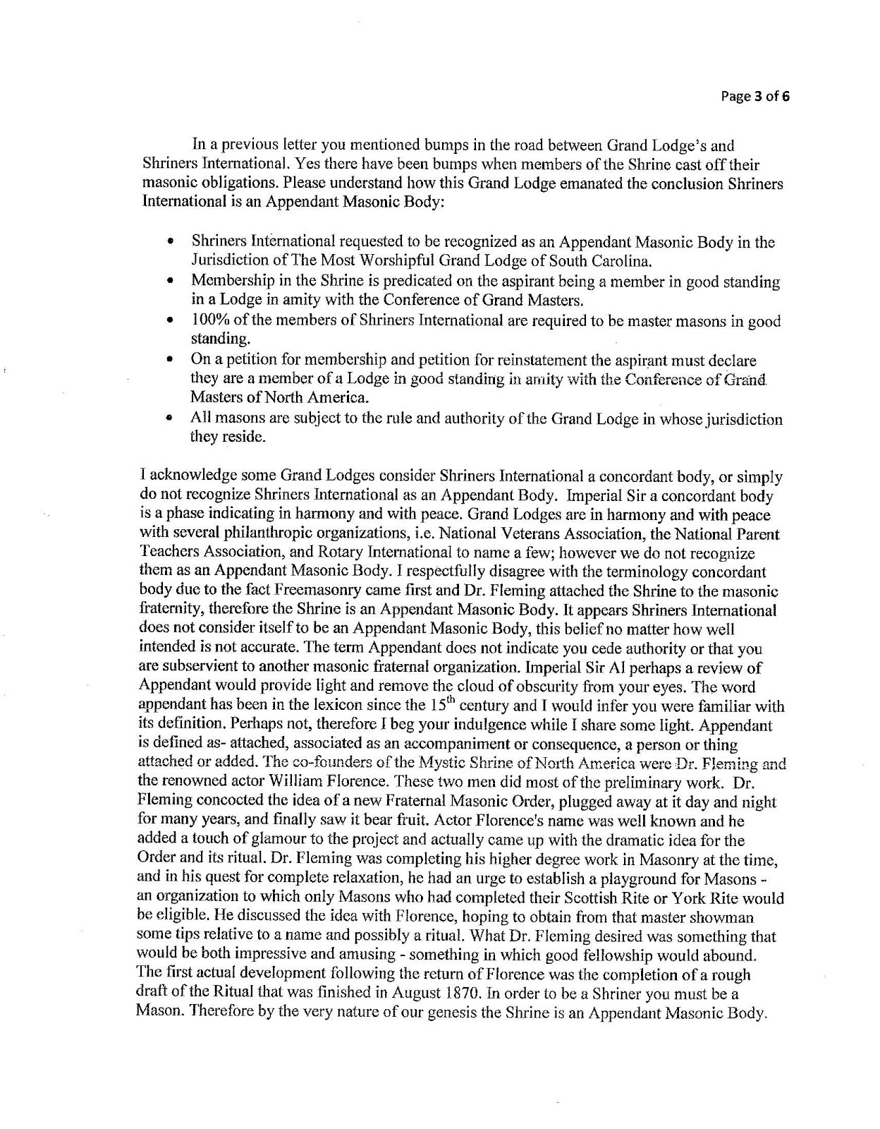 Freemasons for dummies showdown with the shrine in south carolina the letter speaks for itself this in conjunction with the very public mess in arkansas could spell the beginning of the separation of the shrine from buycottarizona