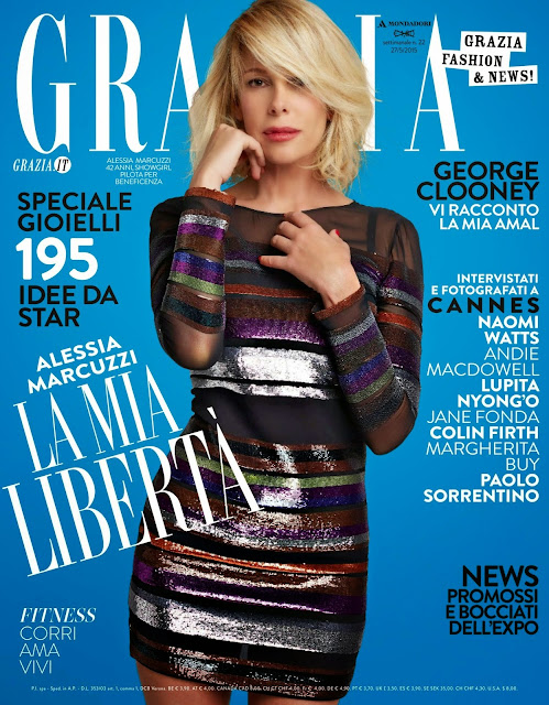Actress, Model, Showgirl @ Alessia Marcuzzi - Grazia  Italy, May 2015