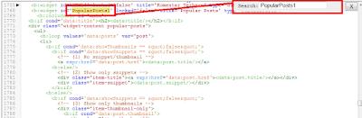 Cara menghilangkan judul widget pada blogger