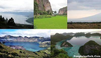5 Pemandangan Alam Paling Indah di Indonesia