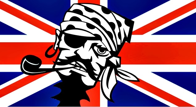 piracy in united kingdom