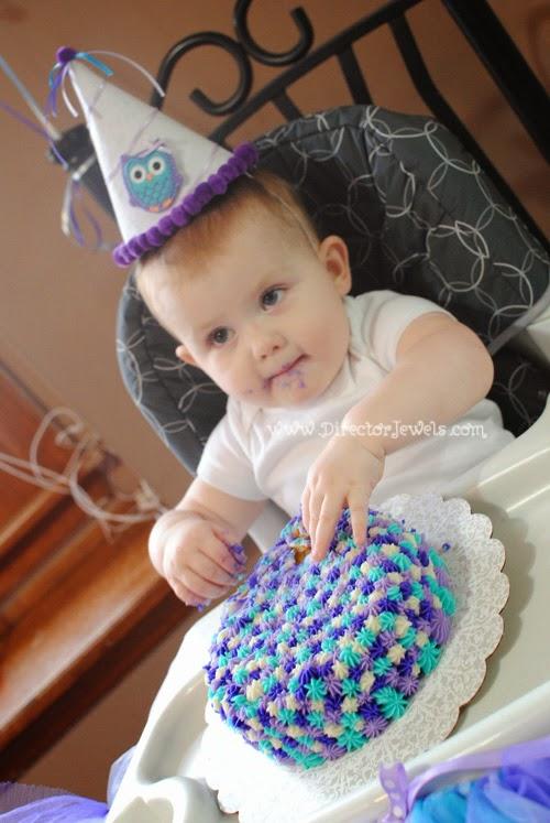 Director Jewels Easy Unique 1st Birthday Smash Cake Tutorial