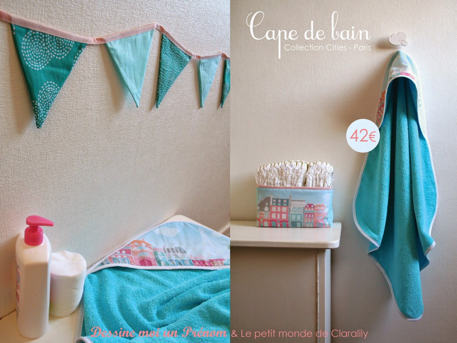 http://www.alittlemarket.com/puericulture/fr_cape_de_bain_turquoise_collection_cities_paris_-11961595.html