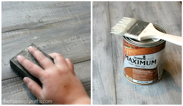 Can You Apply Aging Dust To Latex Paint