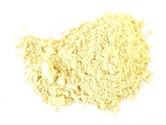 Il pigmento bianco ricavato dalla terra colorante di Le Pescine raccolta nel tumulo