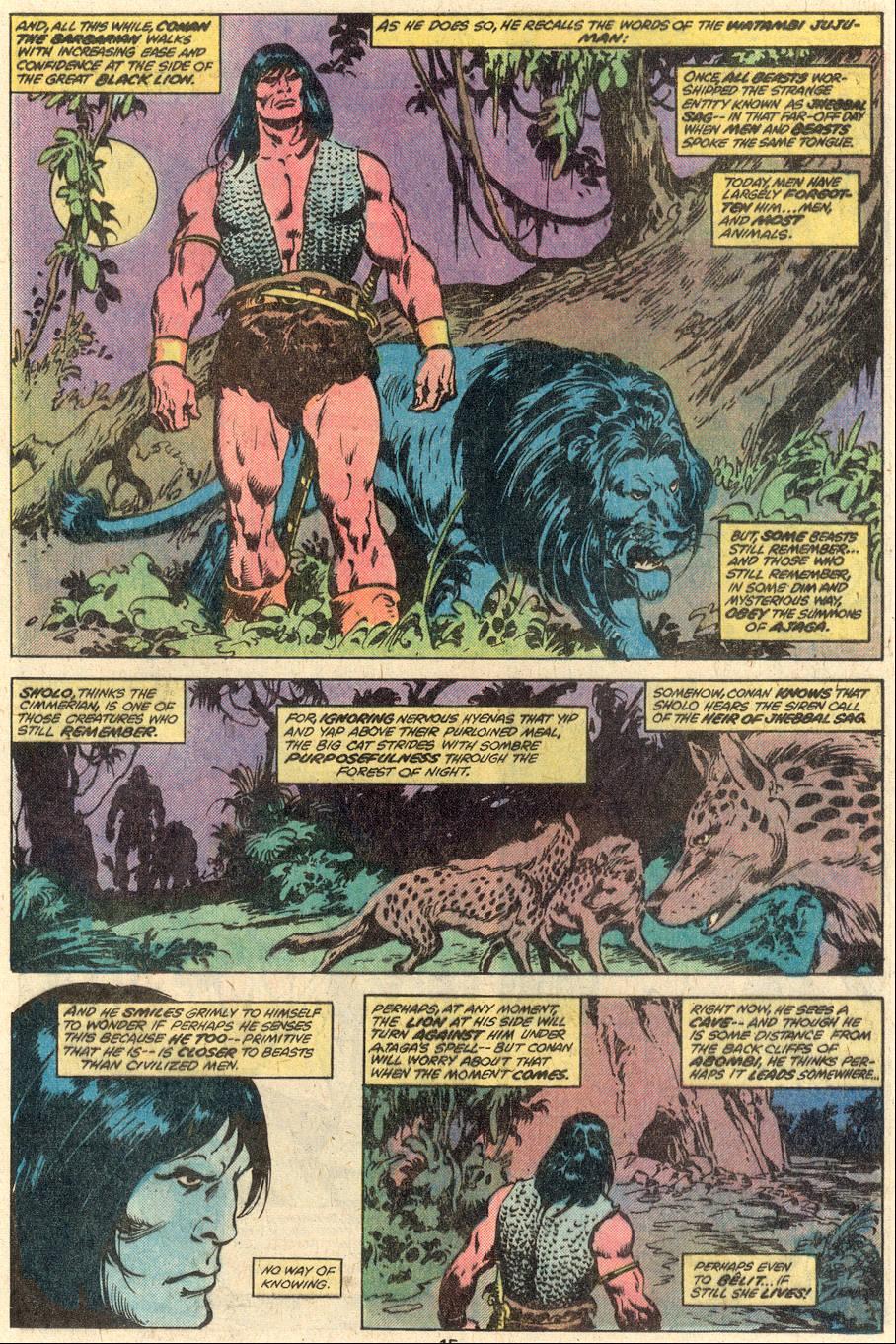 Conan the Barbarian (1970) Issue #95 #107 - English 10