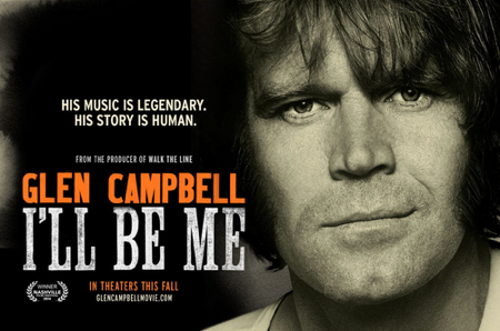 Glen Campbell I'LL BE ME poster