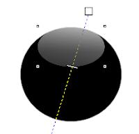 Shiny Orb Corel Draw Transparency Tool