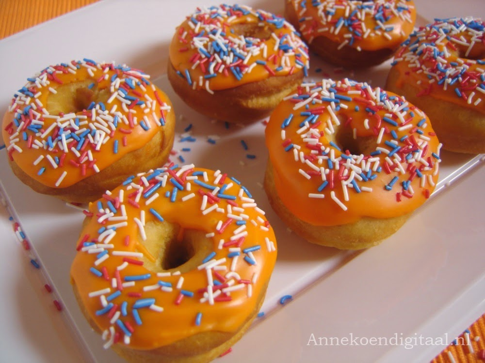 Oranje Donuts Annekoendigitaal.nl