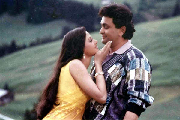 Image result for Chandni (1989) - Vibrant chiffon sarees