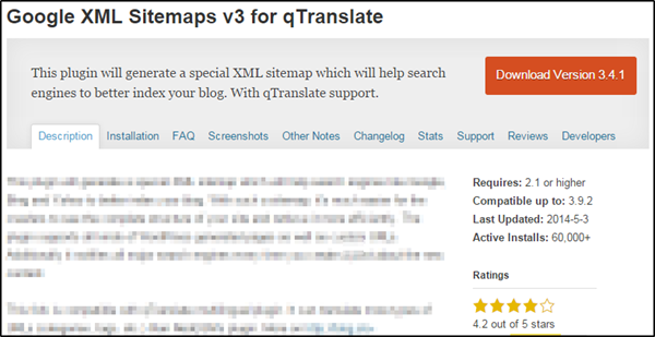 Google XML Sitemaps v3 for qTranslate