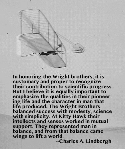 Engineering Quote Of The Week Charles A Lindbergh An Engineer's Unique The Wright Brothers Quotes