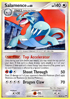 Salamence Pokemon Card Arceus Set
