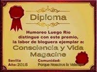 Gracias a nuestro compañero Humoreo Luego Río