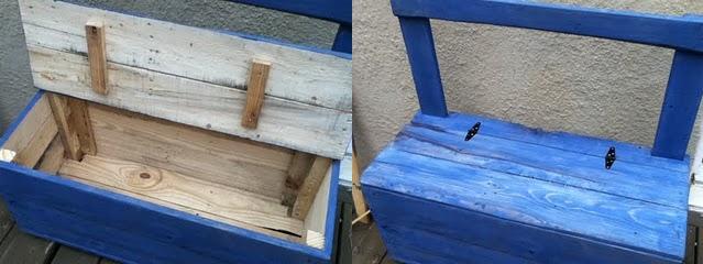 Como hacer un baul con un palet taringa for Reciclar palets de madera paso a paso