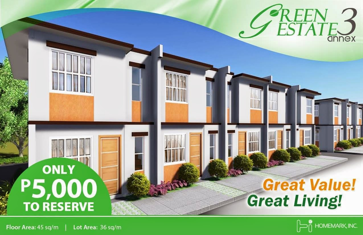 Low Downpayment House And Lot In Cavite  Green Estate By Homemark