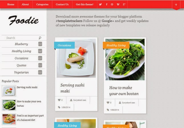 100 best free responsive blogger templates 2015 2014 help archive foodie responsive blogger template forumfinder Choice Image