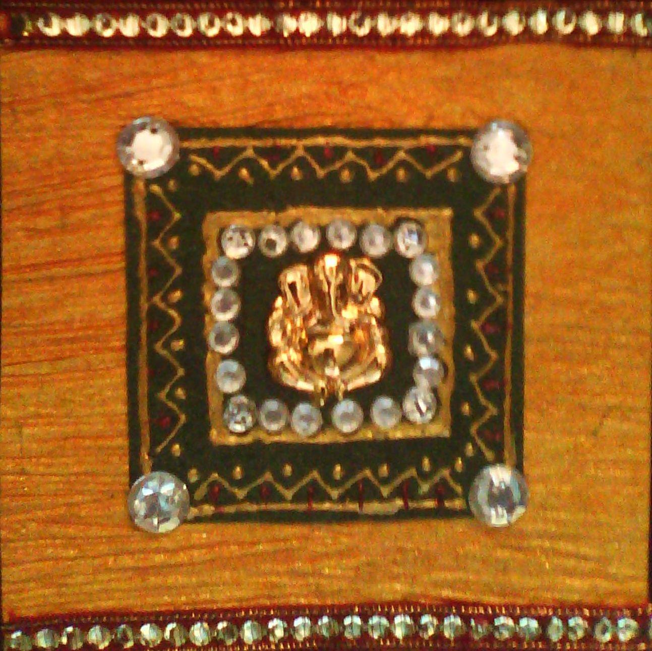 Samarpan arts and crafts ganesha mural for Arts and crafts mural