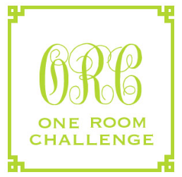 Click here to read about the One Room Challenge (June 27, 2012- August 1, 2012)