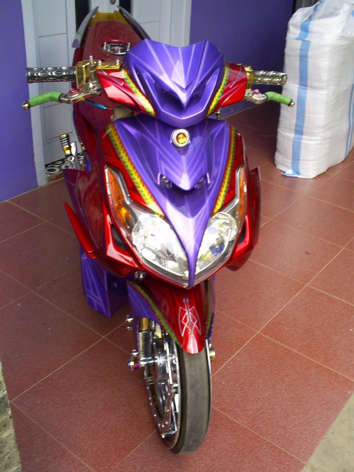 Modif Velg Yamaha Xeon