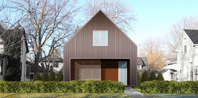 Modern house in Minneapolis by Locus Architecture
