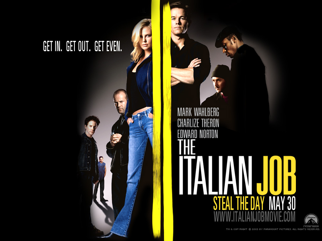 film analysis of the italian job The italian job (2003) movie review from f gary gray staring mark wahlberg, charlize theron, donald sutherland, jason statham, seth green, mos def, edward norton.