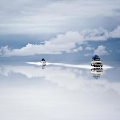 Desierto de Sal en Uyuni, Bolivia.
