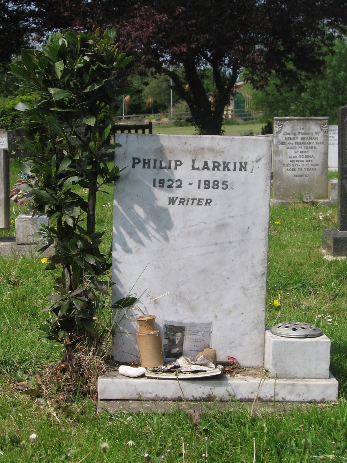 Headstones and thesis statements