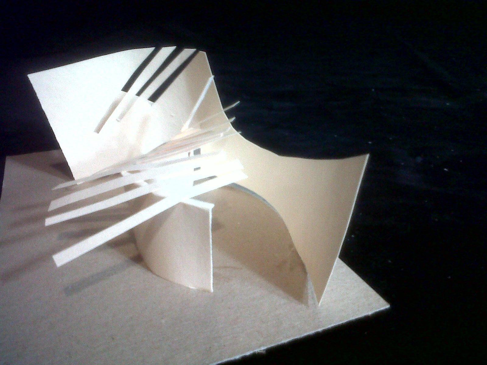 Architecture conceptual models for Movement architecture concept
