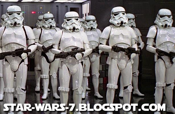 Stormtroopers in Star Wars 7