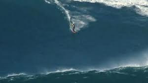Surfer rides 90 foot wave (World Record)