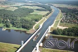 kumpulan jembatan yang ada didunia jembatan magdeburg water